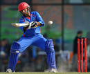 Asghar Stanikzai top scored for Afghanistan with 38, Afghanistan v Bangladesh, final, Asian Games, Guangzhou, November 26, 2010
