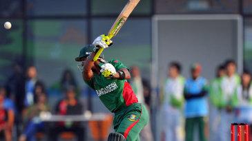 Sabbir Rahman hit 33 off 18 balls to take Bangladesh through to victory
