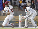 Carlton Baugh pulls en route to his second Test half-century