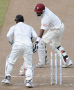 Prasanna Jayawardene stumps Dwayne Bravo, Sri Lanka v West Indies, 2nd Test, Premadasa Stadium, Colombo, 5th day, November 27, 2010