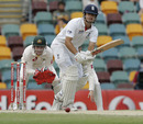 Alastair Cook clips to leg, Australia v England, 1st Test, Brisbane, 5th day, November 29, 2010