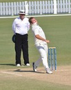 Kola Burger took seven wickets to demolish UAE, UAE v Namibia, ICC Intercontinental Shield, Dubai, December 2, 2010
