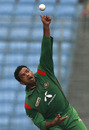 Abdur Razzak bowls during his Man-of-the-Match performance