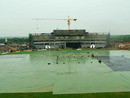 There was no chance of play in Hambantota as incessant rain hit the ground, Hambantota, December 8, 2010