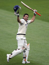 Michael Hill reaches his century, Victoria v England XI, Melbourne, 1st day, December 10, 2010
