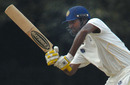 Lakshmipathy Balaji plays one to the leg side during his 41
