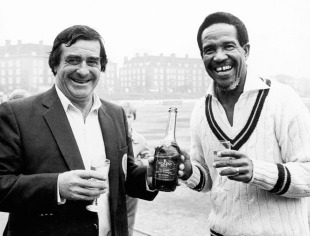 Fred Trueman and Garry Sobers: the leading Test wicket-taker and record-holder for most runs in an innings in the mid-1960s