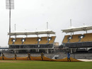 The new stands at the MA Chidambaram Stadium, Chennai, December 15, 2010