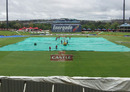 Groundstaff at work under an overcast Centurion sky, South Africa v India, 1st Test, Centurion, 1st day, December 16, 2010