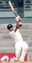 Subramaniam Badrinath plays a lofted shot