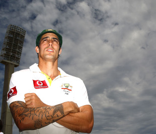 Mitchell Johnson was named Man of the Match for his all-round display
