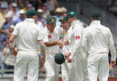 Ricky Ponting congratulates his team-mates, Australia v England, 3rd Test, Perth, 4th day, December 19, 2010