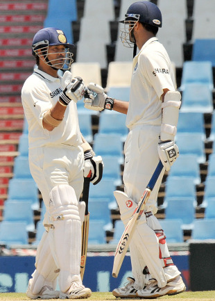 Tendulkar and Dravid: enthusiasm and determination respectively
