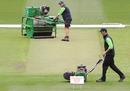 Cameron Hodgkins, the MCG curator, works on the pitch for the Boxing Day Test, Melbourne, December 21, 2010