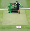 The pitch at the MCG has a lot of grass five days ahead of the Boxing Day Test, Melbourne, December 21, 2010