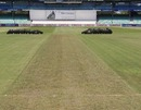 The pitch at Kingsmead for the Boxing Day Test between South Africa and India, Durban, December 22, 2010