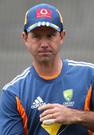 Ricky Ponting at Australia's training session, Melbourne, December 23, 2010