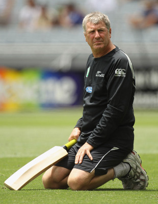 John Wright will be relieved after his first game as New Zealand coach, New Zealand v Pakistan, 1st Twenty20, Auckland, December 26, 2010