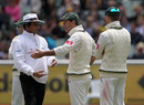 Ricky Ponting was involved in an ugly incident where he argued with the umpires after an unsuccessful review