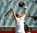 Jonathan Trott basks in the glory of another Ashes hundred