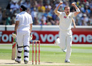 Peter Siddle picked up his fifth wicket when he had Tim Bresnan caught behind