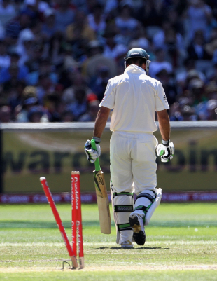 Ricky Ponting fought hard in the second innings but couldn't inspire his team