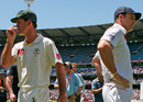 Ricky Ponting and Andrew Strauss, heading in opposite directions, Australia v England, 4th Test, Melbourne, 4th day, December 29, 2010