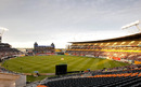 A general view of the AMI stadium, New Zealand v Pakistan, 3rd Twenty20, Christchurch, December 30, 2010