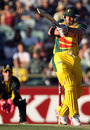 Travis Birt plays a pull shot, Western Australia v Tasmania, Perth, December 30, Twenty20 Big Bash 2010-11