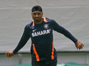 Harbhajan Singh has picked up nine wickets in the first two Tests, Cape Town, January 1, 2011