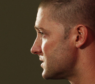 Michael Clarke talks to the press ahead of his first Test as captain, Sydney, January 2, 2011