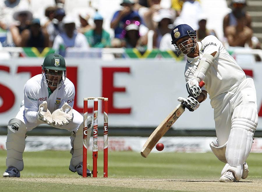Sachin Tendulkar was more comfortable against spin