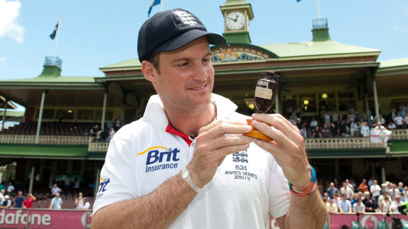 Andrew Strauss's victory in Australia in 2010-11 was his greatest achievement as England captain