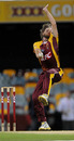 Nathan Rimmington picked up two crucial wickets, Queensland v Tasmania, Brisbane, January 7, Big Bash 2010-11