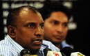 Aravinda de Silva speaks to the press, Colombo, January 8, 2011