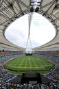 The Moses Mabhida Stadium during India's Twenty20 against South Africa, South Africa v India, only Twenty20, Durban