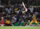 Eoin Morgan top-scored with 43 in England's one-wicket win, Australia v England, 1st Twenty20, Adelaide, January 12, 2011