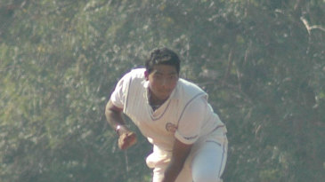 Bhargav Bhatt picked up five wickets but had to bowl 43 overs to get them