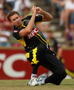 Brett Dorey took three wickets in his four overs