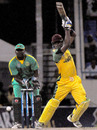 Marlon Samuels' 42 played a key role in Jamaica's win, Jamaica v Guyana, Antigua, Caribbean T20, Group A, January 10, 2011
