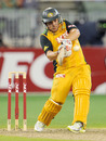 Aaron Finch's power proved the difference between the sides, Australia v England, 2nd Twenty20, Melbourne, January 14, 2011