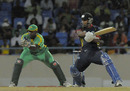 William Perkins blasted a quickfire 43, Combined Campuses and Colleges v Guyana, Antigua, Caribbean T20, Group A, January 14, 2011