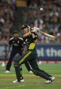 Michael Clarke struggled for fluency in his 36, Australia v England, 1st ODI, Melbourne, January 16, 2010