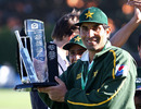 The draw gave Misbah-ul-Haq his first series win as captain and Pakistan's first since 2006, New Zealand v Pakistan, 2nd Test, Wellington, 5th day, January 19, 2011
