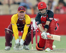 Callum Ferguson brings out the reverse-sweep, South Australia v Queensland, Twenty20 Big Bash 2010-11, Adelaide, January 20, 2011