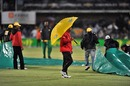 Rain brought an early conclusion to the game, South Africa v India, 4th ODI, Port Elizabeth, January 21, 2011