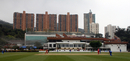 A panoramic view of Hong Kong Cricket Club, January 22, 2011