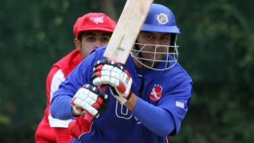 Sushil Nadkarni scored a rapid 38 against Hong Kong