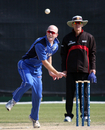 Andy Northcote bowls for Italy, Italy v Papua New Guinea, WCL Division 3, Wong Nai, January 23, 2011
