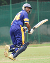 Bhanuka Rajapaksa clips into the leg side on his way to a hundred, Sri Lanka Under-19 v England Under-19, 1st Youth ODI, January 28, 2011